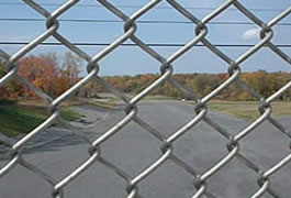 Aluminized Steel Chain Link Fence for Perimeters