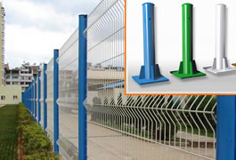 Hot Dipped Galvanized PVC Coated Posts